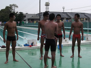 水泳部OB